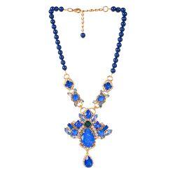 Vicki Sarge Large Blue Necklace