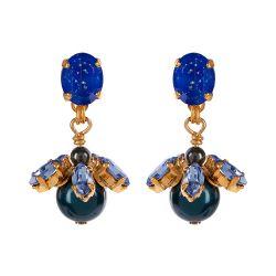 Vicki Sarge Blue Drop Earrings
