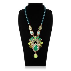 Vicki Sarge Large Green Necklace