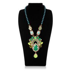 Vicki Sarge Large Green Necklace