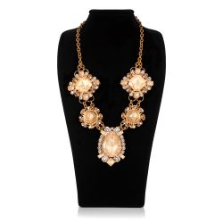 Vicki Sarge Large Champagne Necklace