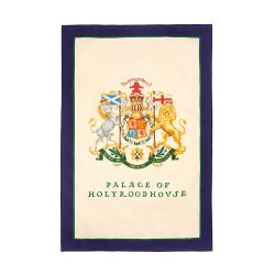 Palace of Holyroodhouse Crest Tea Towel
