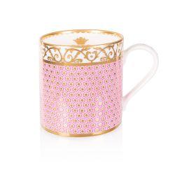 Sevres Pink Coffee Mug