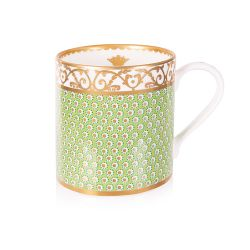 Sevres Green Coffee Mug
