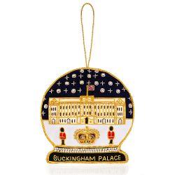 Buckingham Palace Snow Globe Decoration
