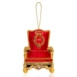 Buckingham Palace Crystal Throne Decoration