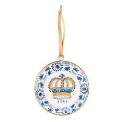 Charles II Delft Crown Decoration