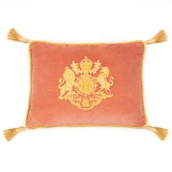 Queen Victoria Velvet Cushion