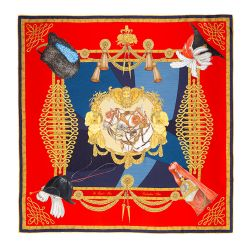 Royal Mews Silk Scarf