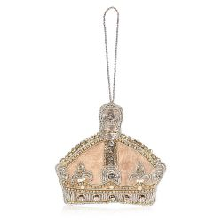 Queen Victoria Crystal Crown Decoration