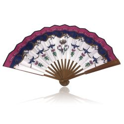 Queen Victoria Folding Hand Fan