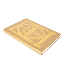 George IV Recycled Leather Notebook