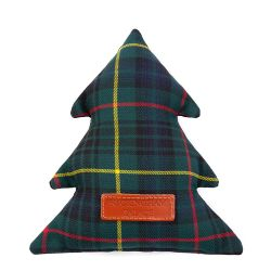 Buckingham Palace Tartan Christmas Tree Dog Toy