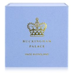 Buckingham Palace Blue Miniature Teacup and Saucer
