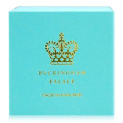 Buckingham Palace Turquoise Miniature Teacup and Saucer