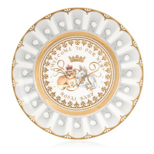 Royal Baby 2018 Official Commemorative Plate
