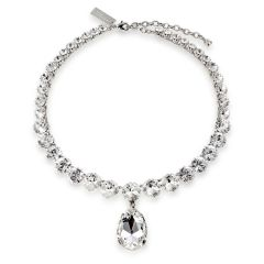 Coronation  crystal necklace inspired on Her Majesty Queen Elizabeth II original coronation necklace.