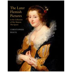 Illustrated front cover of The Later Flemish Pictures in the Collection of Her Majesty The Queen book by Christopher White.