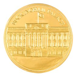 Buckingham Palace Chocolate Coin