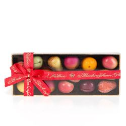 Buckingham Palace Marzipan Fruits With Red Ribbon