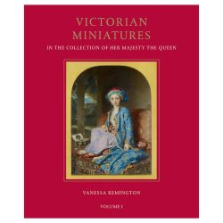 Volume I of the Royal Collection Book Victorian Miniatures in the Collection of Her Majesty The Queen by Vanessa Remington.