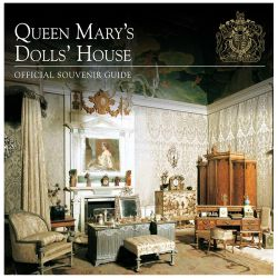 Front catalogue cover of Queen's Mary's Dolls' House official souvenir guide.