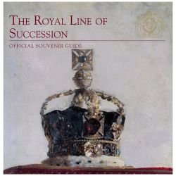 Front cover of the catalogue The Royal  Line of Succession official souvenir guide.