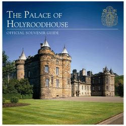 Front cover of The Palace of Holyroodhouse official souvenir guide.