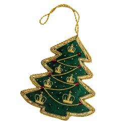 Buckingham Palace Green Christmas Tree Decoration