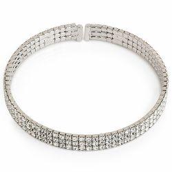 Buckingham Palace Silver Cuff Bracelet