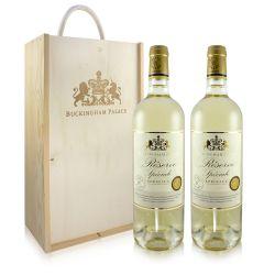 Buckingham Palace White Wine Gift Set