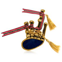 Buckingham Palace Bagpipe Decoration