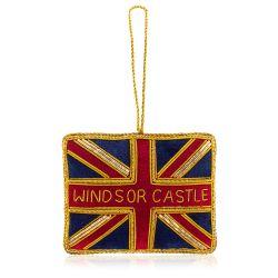 Windsor Castle Union Flag Decoration