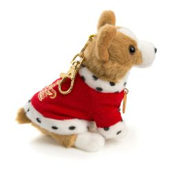 Buckingham Palace Red Corgi Keyring
