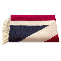 Buckingham Palace Union Flag Wool Blanket