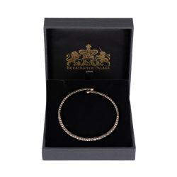 Flexible crystal bracelet