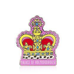 Holyrood Palace Crown Pin Badge
