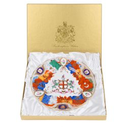 Limited Edition Coalport Flag Plate