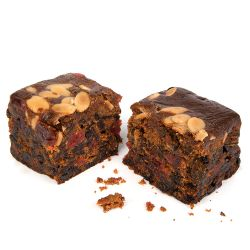 Buckingham Palace Cherry and Almond Fruit Cake
