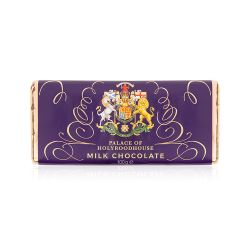 Palace of Holyroodhouse Scottish Arms Milk Chocolate Bar