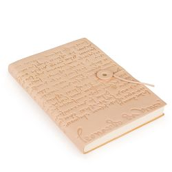 Leonardo da Vinci Leather Notebook