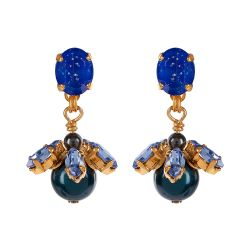 Vicki Sarge Blue Drop Earrings