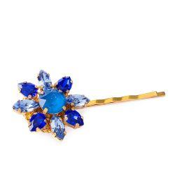 Vicki Sarge Blue Hair Clip