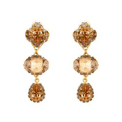 Vicki Sarge Champagne Drop Earrings