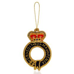 Buckingham Palace Royal Garter Decoration