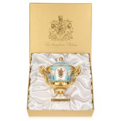 Limited Edition Coat of Arms Gadroon Vase