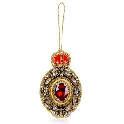 Palace of Holyroodhouse Red Jewel Decoration