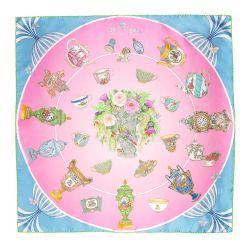 Royal Porcelain Silk Scarf