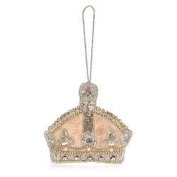 Queen Victoria Crystal Crown Decoration