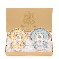 Sèvres Parrot Teacup and Saucer Set